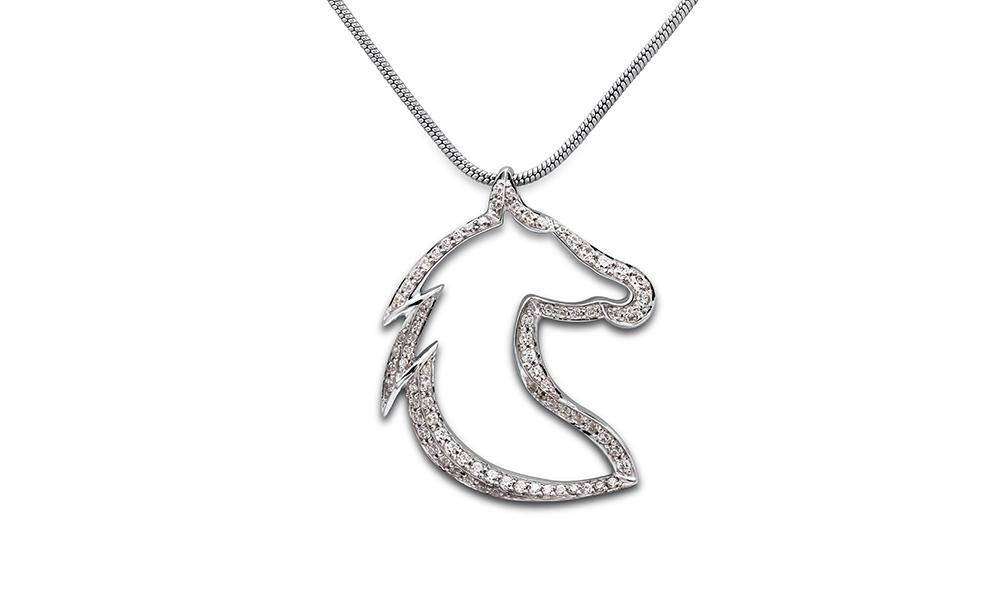 Large horse pendant